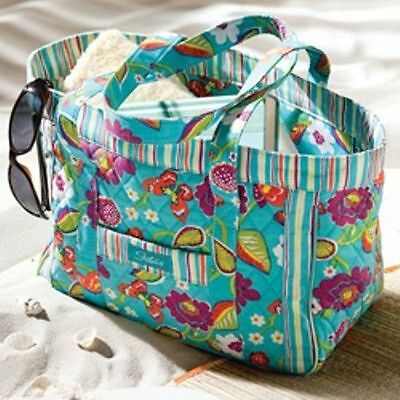 "LONGABERGER~SISTER'S~Summer Lovin"" Tote Bag or Purse~COLORFUL~BRAND NEW IN BAG!"