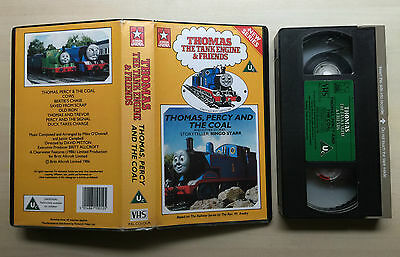 Thomas The Tank Engine & Friends - Thomas, Percy And The Coal - Vhs Video