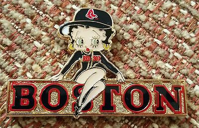 BOSTON RED SOX BETTY BOOP Lapel Pin