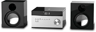 GPX HC225B Stereo Home Music System with CD Player & AM/ FM Tuner, Remote
