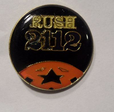 Old Collectible Rush Lapel/Hat Pins
