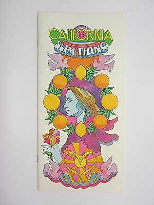 RARE Vintage 1960s SUNKIST Growers Citrus Advertising THE CALIFORNIA SLIM THING