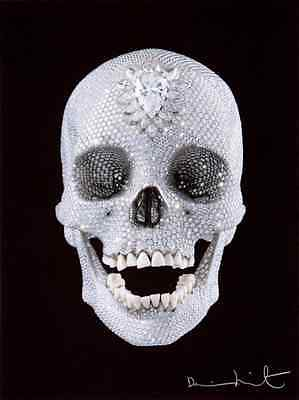 FOR THE LOVE OF GOD, BELIEVE, signed in original work by artist Damien Hirst