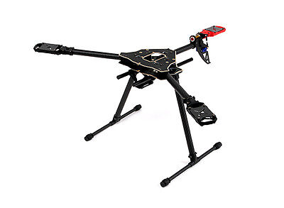 RC Drone UK Tri-copter Frame KIT for FPV Aerial Photography Tricopter Titus-600