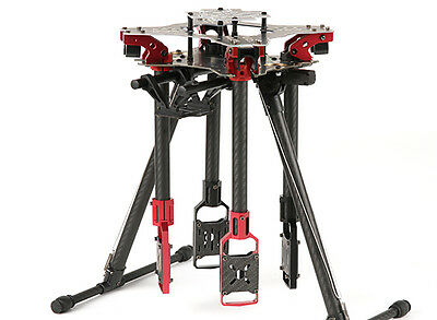 Portable Folding Quadcopter w/ Retractable Landing Gear for Aerial Photography