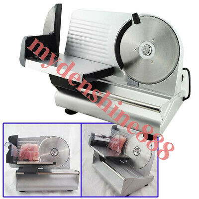 Commercial Home Electric Food Meat Slicer Cheese Cut  Slicing Thickness 0-15mm