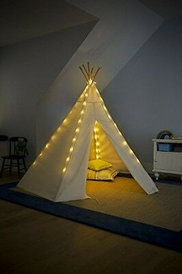 Detachable 7' Teepee/Tent Lights for Children Playing at Night Indoor USA