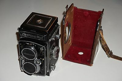 Yashica Mat Made in Japan Camera with Copal-MXV Lens