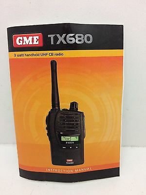 Globe Roamer GME TX680 Instruction Manual