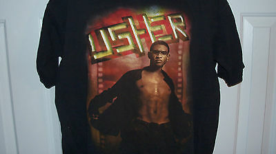 VTG USHER Evolution 8701 Concert Tour Shirt - Size XL