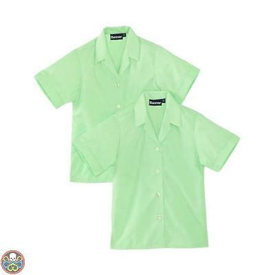 Blue Max Banner Tg: 30^ Chest Verde Revere Twin Pack Short Sleeve School Nuovo