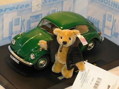 "Never Use! ""Volkswagen Beetle Bear Set"" Steiff  Germany limited in 2008"