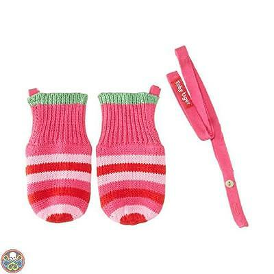 Toby Tiger Tg: Dimensione 0 - 3 Mesi Rosa(Pink) - Pink And Green Stripe Nuovo