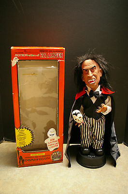 Vintage 1990 Telco 'vampire' #92182 'motion-Ettes Of Halloween' Tested And Works
