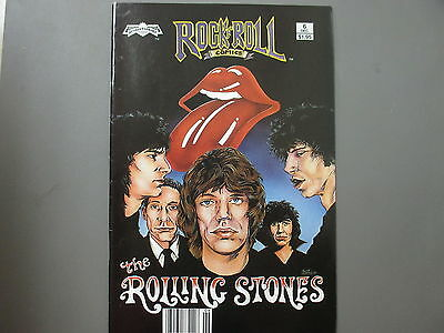 Rolling Stones comic Rock n Roll Comics 1989 First Printing !