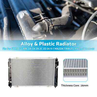 06//2008 N//A 3.0L V6 For 2008-2010 Ford Escape RADIATOR ASSEMBLY FROM