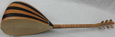 Turkish Short Neck Walnut Baglama Saz For Sale