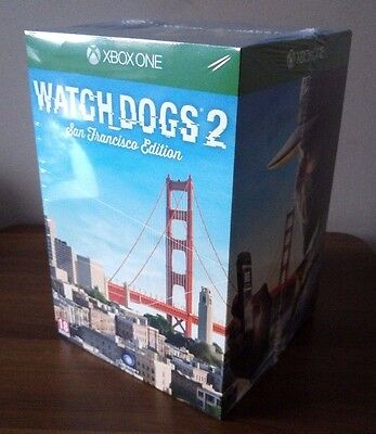 Watch Dogs 2 San Francisco Collector's Edition Xbox One Pal Uk New Sealed