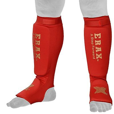 Shin Instep Pad MMA Leg Foot Guard Muay Thai Kick Boxing Guard Protector AU Post