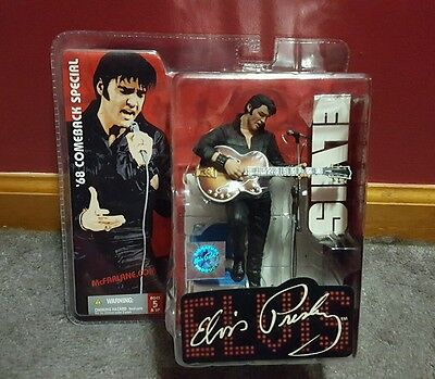 McFarlane Toys Presents Elvis '68 Comeback Special  Elvis Presley as is