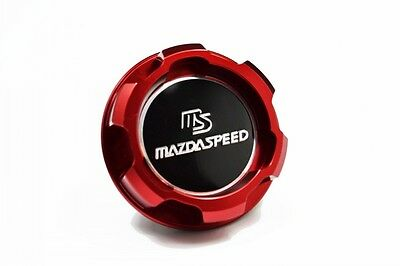 MAZDASPEED Oil Filler Cap Aluminium Red Mazda Miata MX5 RX7 RX8