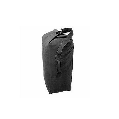 Black Kit bag ~ Military Army Style Large Size Heavy Duty Cotton Canvas ~ New