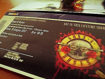 Biglietti Guns n' Roses Imola 10 giugno 2017 GOLDEN CIRCLE, SOLD OUT!!!