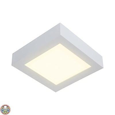 Naeve Leuchten Tg: 22,5 X 22,5 X 4 Cm Bianco A Plafoniera Led In Nuovo