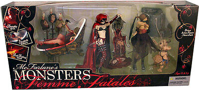 The McFarlane Monsters Femme Fatales