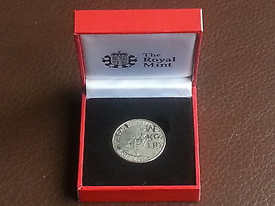 2012 Royal Mint Queen's Diamond Jubilee Commemorative Medal Coin Boxed
