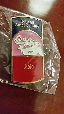 Holland America ASIA VERY RARE PIN One of 11 in the series