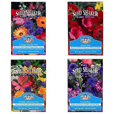 Mr Fothergill's Hardy Annual Garden Wild Flower Seed Shaker Boxes