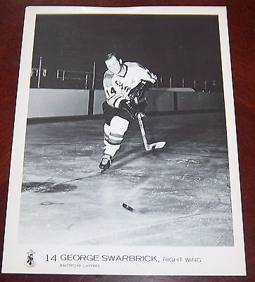 Baltimore Clippers George Swarbrick 1969  from the Woody Ryan Collection
