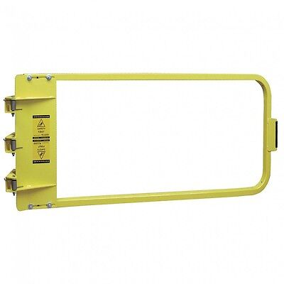 NEW PS DOORS model LSG-48-PCY Yellow Safety Gate, 46-3/4 to 50-1/2 In, Steel