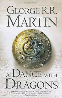 A Dance With Dragons, Part 1, Book 5: Dreams and Dust Book, New, Martin, George