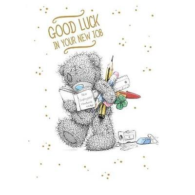 Me To You Good Luck In Your New Job Card Tatty Teddy Bear New Gift