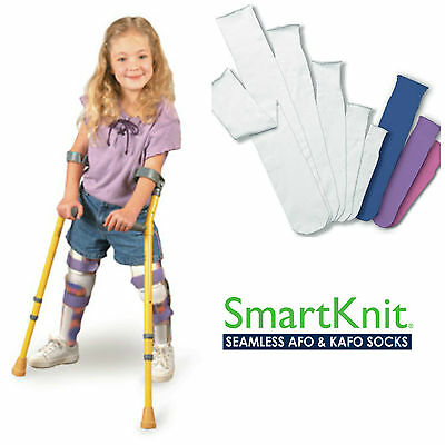 Smartknit KAFO (Knee Ankle Foot Orthosis) Seamless Socks (XX Long) for children