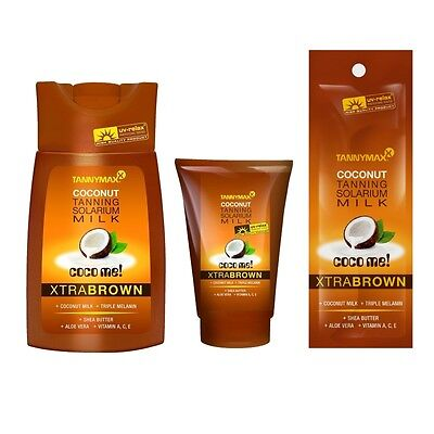Tannymaxx Coco Me! Xtra Brown sunbed tanning lotion cream Tannymax