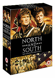 North and South Complete [DVD] [2010] Box Set Collection 8 Discs NEW REGION 2