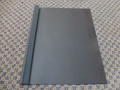 "50 Pro Bind Black Thermal Binding Covers, 1/2"" 12mm (85-115 pgs)"