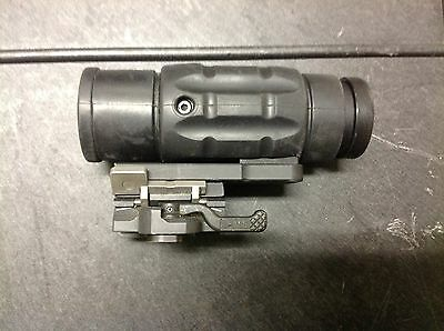 Aimpoint Magnifier (x3) with Samson Quick-Flip mount
