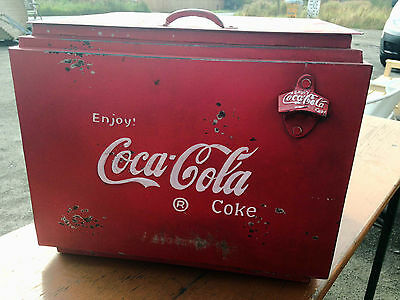 Coca Cola Coke Ice Box Retro