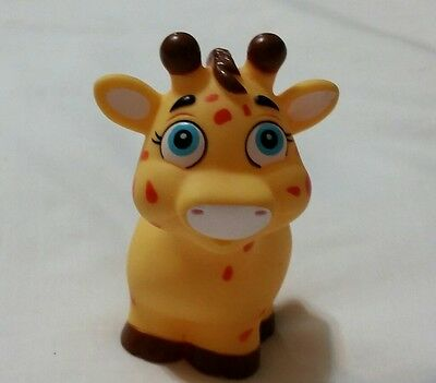 Garanimals Bath Toy Giraffe, Yellow with Orange Spots, Toy Figure Giraffe