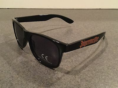Jagermeister Sunglasses Black With Orange Jager Logo UV Eye Protection