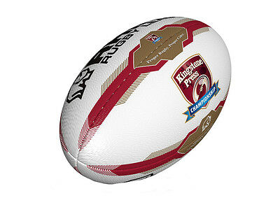 Kingstone Press Championship Match Rugby Rugby Ball - Size 5