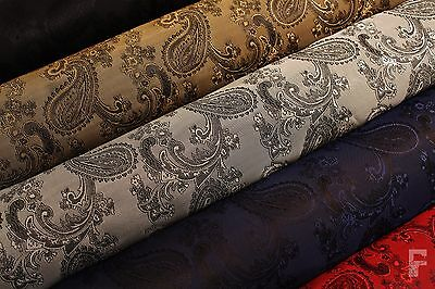 PAISLEY WEAVE JACQUARD LINING FABRIC - width 144 cm