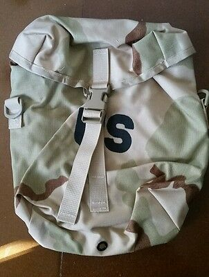 NEW IN BAG MOLLE SUSTAINMENT POUCH, Genuine US Military Desert Camo DCU Pack