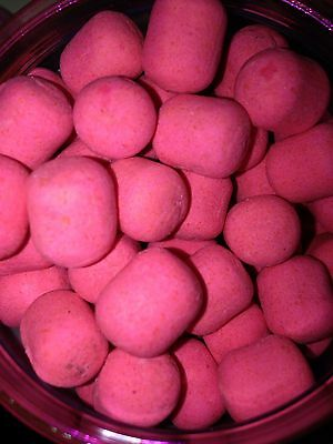 12x14mm Goo'd Pink Cell And Almond Pop Up Ups Pack Of 15 Korda Mainline