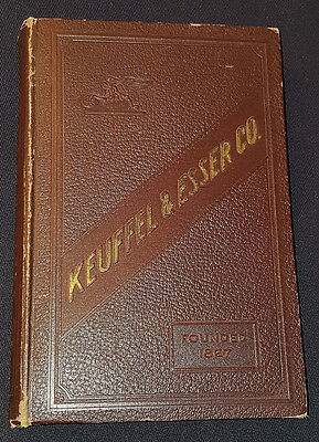 1927 - Keuffel & Esser Co - Hard Cover Catalog - Drawing & Surveying Instruments