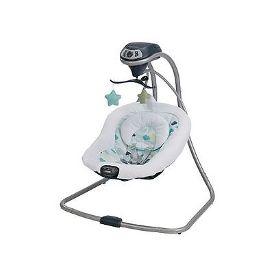 Graco Simple Sway Portable Baby Swing ~~ Stratus ~~ Brand New!!!